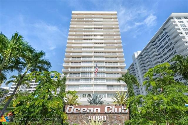 4020 Galt Ocean Dr #111, Fort Lauderdale, FL 33308 (MLS #F10142410) :: Green Realty Properties
