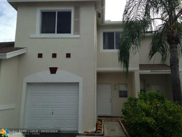 819 NW 42nd Pl #819, Pompano Beach, FL 33064 (MLS #F10142581) :: Green Realty Properties