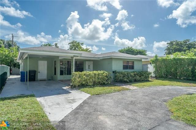 4910 NE 1st Ter, Oakland Park, FL 33334 (MLS #F10142672) :: Green Realty Properties