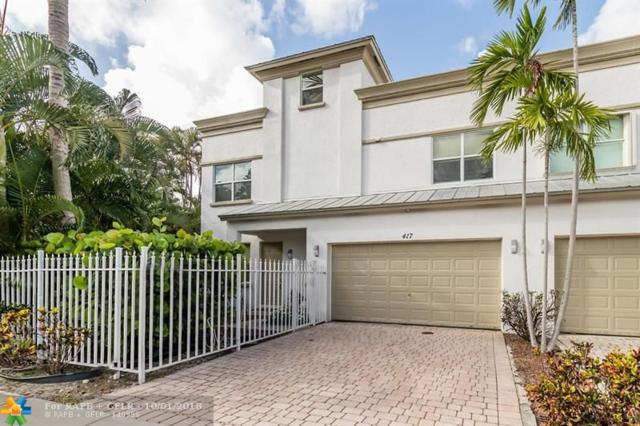 417 SW 8TH ST #417, Fort Lauderdale, FL 33315 (MLS #F10142894) :: Green Realty Properties