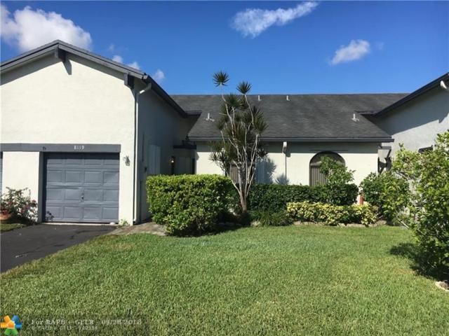 8119 NW 100th Ln #92, Tamarac, FL 33321 (MLS #F10143080) :: Green Realty Properties