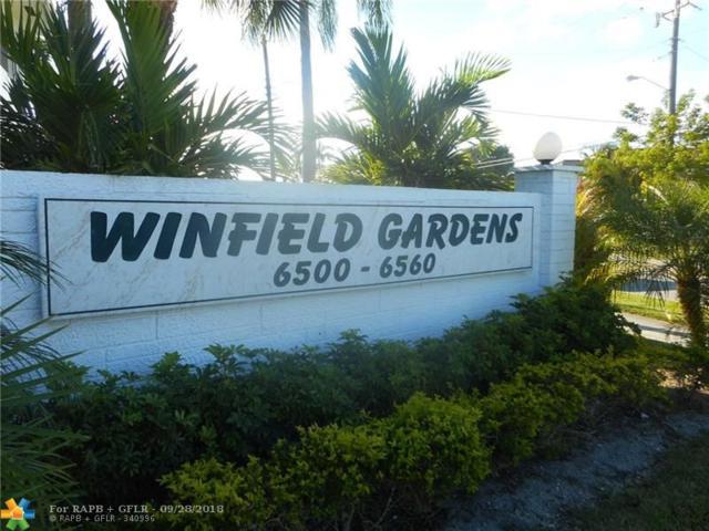 6540 Winfield Blvd #103, Margate, FL 33063 (MLS #F10143111) :: Green Realty Properties