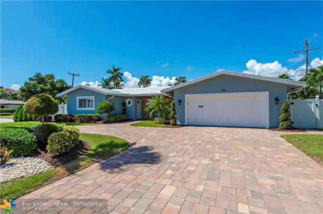 3161 NE 28th Ave, Lighthouse Point, FL 33064 (MLS #F10143213) :: Green Realty Properties