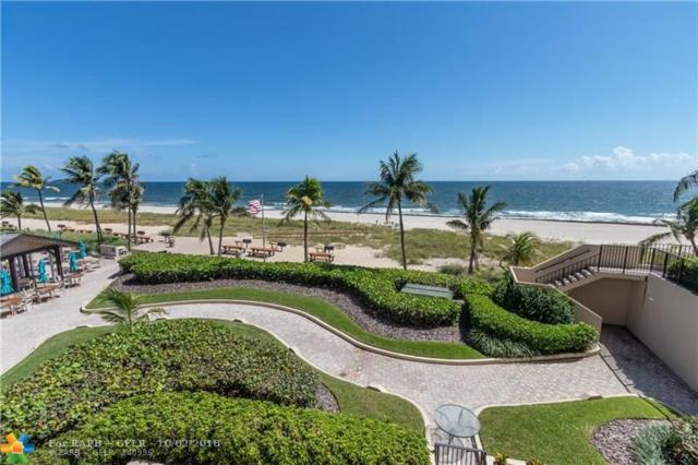 4900 N Ocean Blvd #408, Lauderdale By The Sea, FL 33308 (MLS #F10143446) :: Green Realty Properties