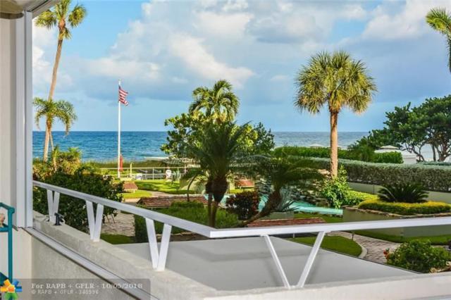 1850 S Ocean Blvd #204, Lauderdale By The Sea, FL 33062 (MLS #F10143574) :: Green Realty Properties