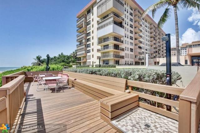 1147 Hillsboro Mile 303 - S, Hillsboro Beach, FL 33062 (MLS #F10143814) :: Green Realty Properties