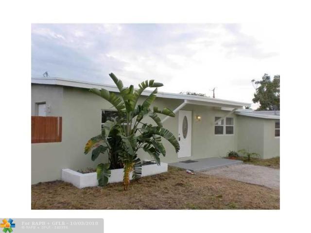 1546 NE 53rd Ct, Pompano Beach, FL 33064 (MLS #F10143828) :: Green Realty Properties