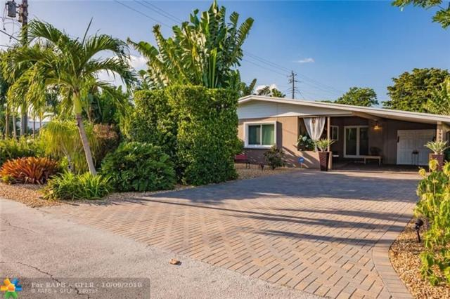 1901 NE 26th Dr, Wilton Manors, FL 33306 (MLS #F10143860) :: Green Realty Properties