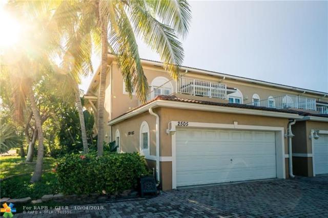 2505 NE 2nd St #2505, Pompano Beach, FL 33062 (MLS #F10143965) :: Green Realty Properties