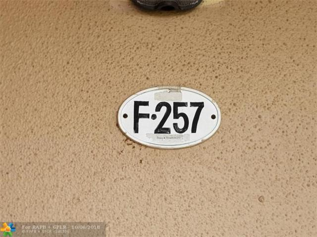 257 Flanders F #257, Delray Beach, FL 33484 (MLS #F10144303) :: Green Realty Properties