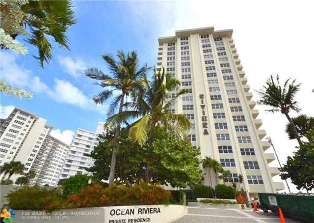 3550 Galt Ocean Dr #1807, Fort Lauderdale, FL 33308 (MLS #F10144442) :: Green Realty Properties