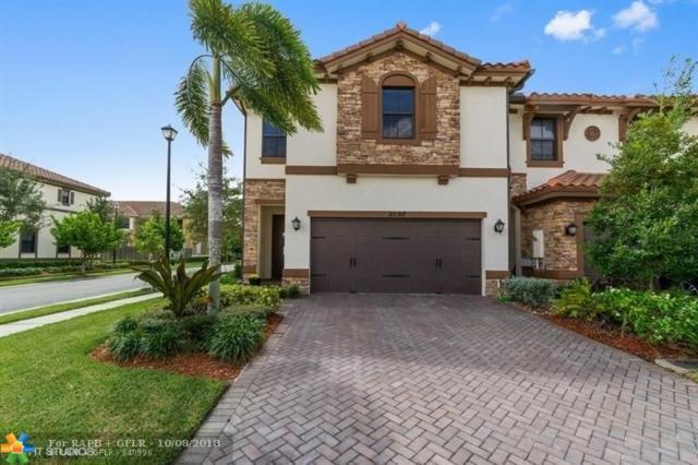 9598 Town Parc Cir N #9598, Parkland, FL 33076 (MLS #F10144553) :: Green Realty Properties