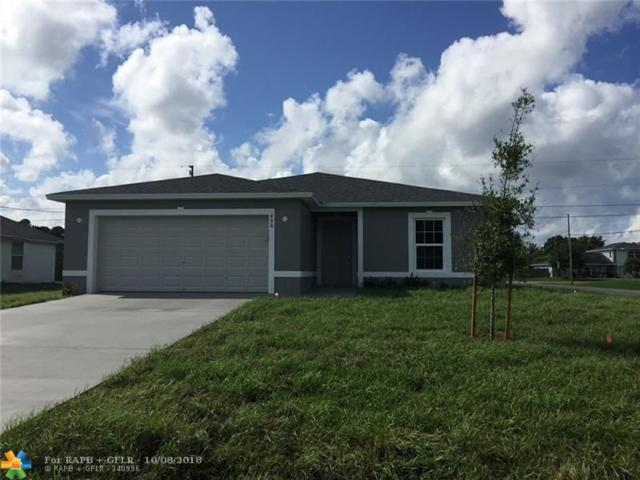 498 SW Dailey Avenue, Port Saint Lucie, FL 34953 (MLS #F10144582) :: Green Realty Properties