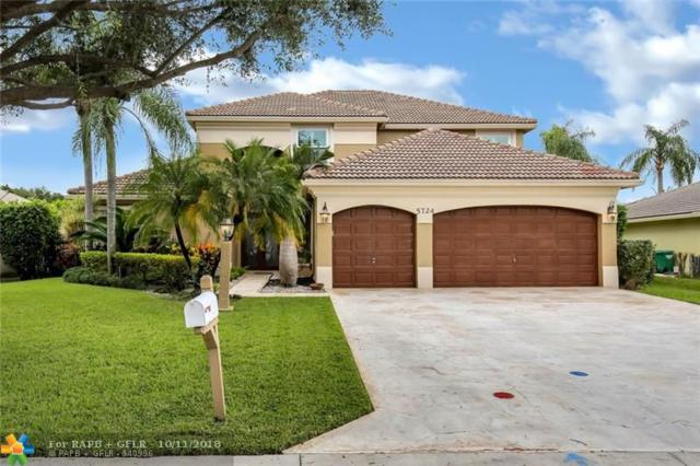 5724 NW 50th St, Coral Springs, FL 33067 (MLS #F10145063) :: Green Realty Properties
