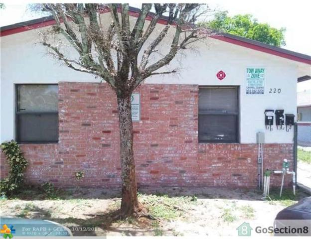 220 NW 12th Ct, Pompano Beach, FL 33060 (MLS #F10145251) :: Green Realty Properties
