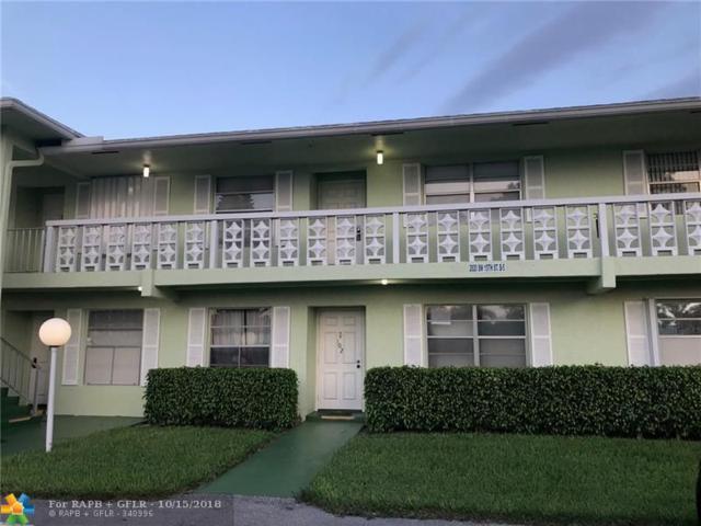 2820 SW 15th St #202, Delray Beach, FL 33445 (MLS #F10145309) :: Green Realty Properties