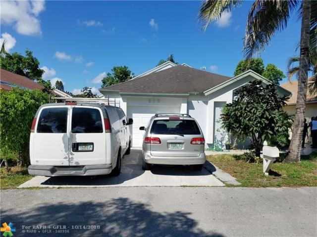 916 Magnolia Ave, North Lauderdale, FL 33068 (MLS #F10145485) :: Green Realty Properties