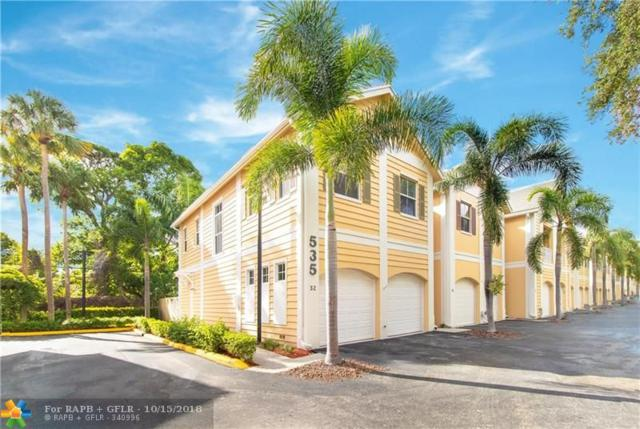 535 SW 18TH AVE #32, Fort Lauderdale, FL 33312 (MLS #F10145518) :: Green Realty Properties