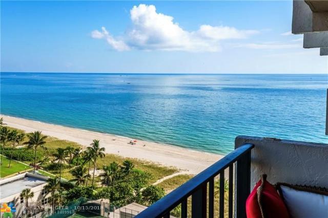 5100 N Ocean Blvd #1506, Lauderdale By The Sea, FL 33308 (MLS #F10145545) :: Green Realty Properties