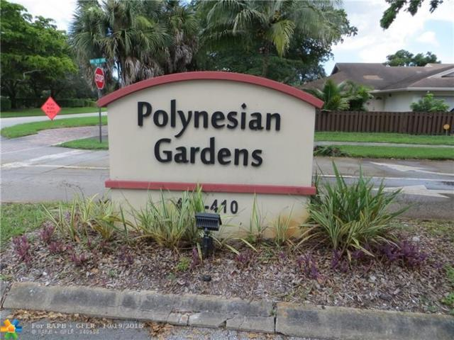 404 NW 68th Ave #417, Plantation, FL 33317 (MLS #F10145574) :: Green Realty Properties