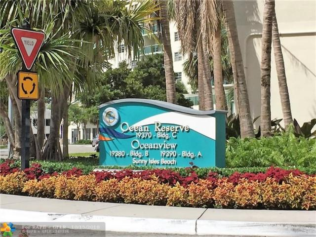 19380 Collins Ave #315, Sunny Isles Beach, FL 33160 (MLS #F10145623) :: Green Realty Properties