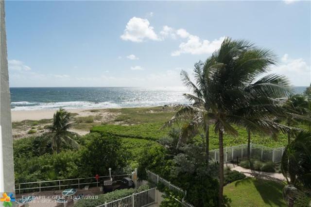 710 N Ocean Blvd #310, Pompano Beach, FL 33062 (MLS #F10145903) :: Green Realty Properties
