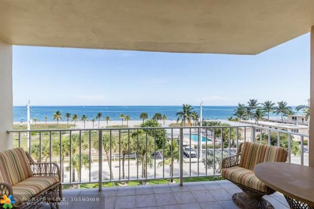 4540 N Ocean Dr #502, Lauderdale By The Sea, FL 33308 (MLS #F10146102) :: Castelli Real Estate Services