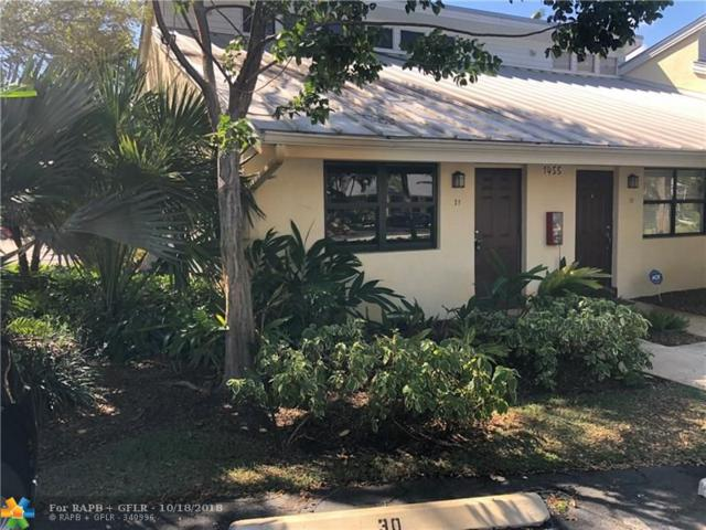 1455 Holly Heights Dr #31, Fort Lauderdale, FL 33304 (MLS #F10146179) :: Green Realty Properties