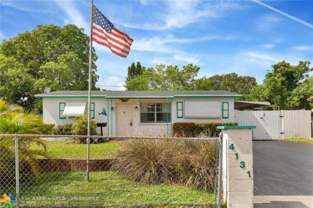 4131 NW 11th Ave, Oakland Park, FL 33309 (MLS #F10146188) :: Green Realty Properties