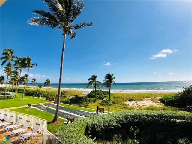 5200 N Ocean Blvd 312B, Lauderdale By The Sea, FL 33308 (MLS #F10146215) :: Green Realty Properties