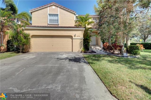 272 NW 118th Dr, Coral Springs, FL 33071 (MLS #F10146277) :: Green Realty Properties