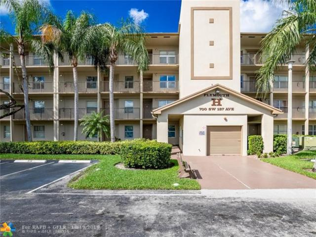700 SW 137th Ave 102H, Pembroke Pines, FL 33027 (MLS #F10146278) :: Green Realty Properties
