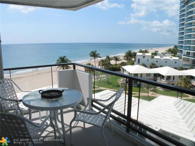 1500 S Ocean Blvd #606, Lauderdale By The Sea, FL 33062 (MLS #F10146573) :: Green Realty Properties