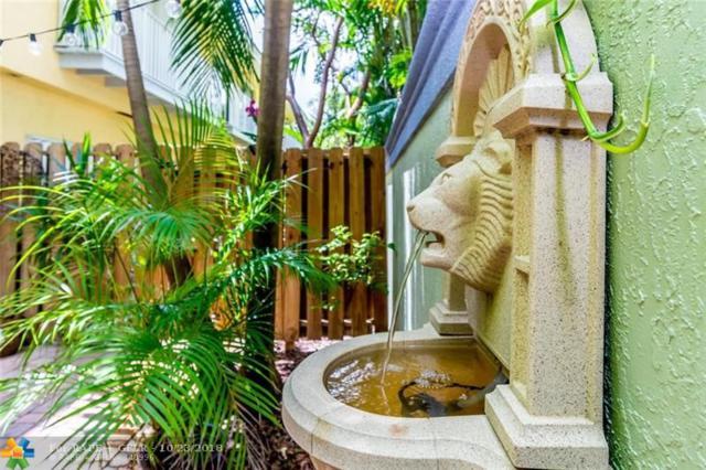1737 NE 4th Ave D-2, Fort Lauderdale, FL 33305 (MLS #F10146709) :: Green Realty Properties