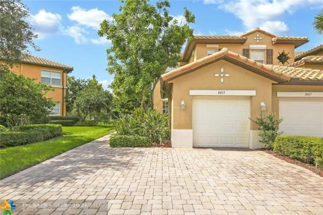 8015 NW 127th Ln 4-A, Parkland, FL 33076 (MLS #F10146729) :: Green Realty Properties