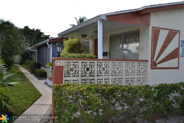 2516 Hayes St #12, Hollywood, FL 33020 (MLS #F10146823) :: Green Realty Properties
