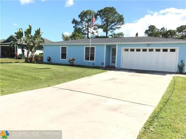 662 NW Kilpatrick, Port Saint Lucie, FL 34983 (MLS #F10146980) :: Green Realty Properties