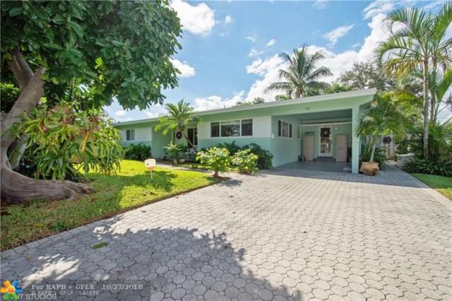 913 NE 26th Ave, Pompano Beach, FL 33062 (MLS #F10147348) :: Green Realty Properties