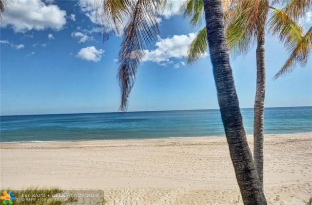 3900 N Ocean Dr 11G, Lauderdale By The Sea, FL 33308 (MLS #F10147465) :: Green Realty Properties
