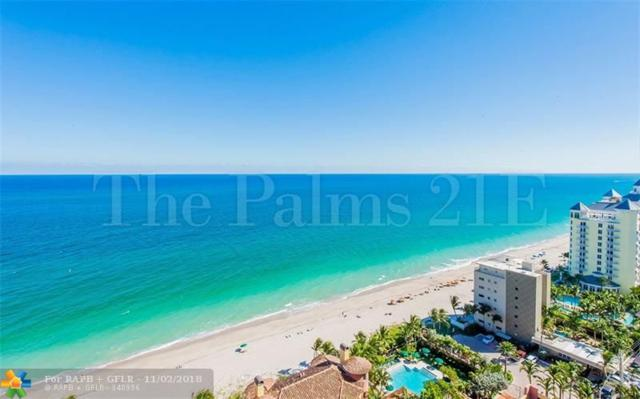 2110 N Ocean Blvd 21E, Fort Lauderdale, FL 33305 (MLS #F10147841) :: Green Realty Properties