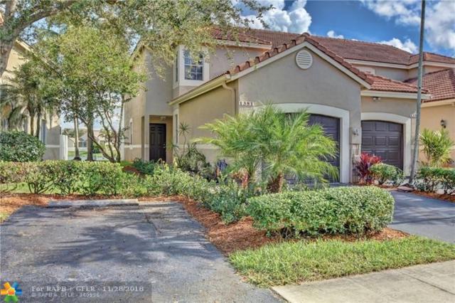 1381 Sorrento Dr #1381, Weston, FL 33326 (MLS #F10147940) :: Green Realty Properties
