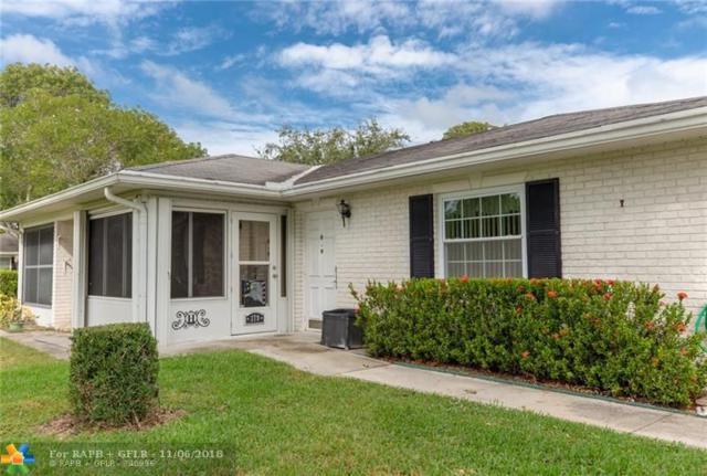 10161 E 41st Trl #179, Boynton Beach, FL 33436 (MLS #F10148237) :: Green Realty Properties