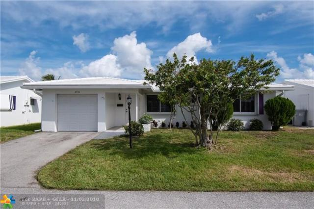 2550 NW 2nd Dr, Pompano Beach, FL 33064 (MLS #F10148396) :: Green Realty Properties