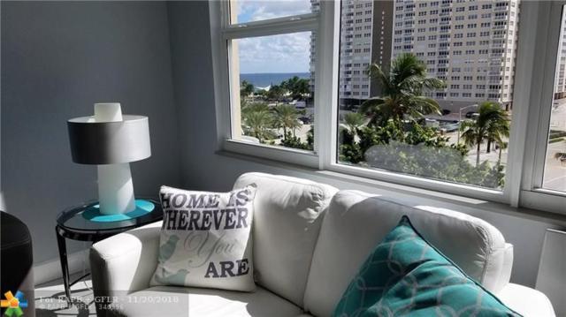 201 N Ocean Blvd #604, Pompano Beach, FL 33062 (MLS #F10148623) :: Green Realty Properties