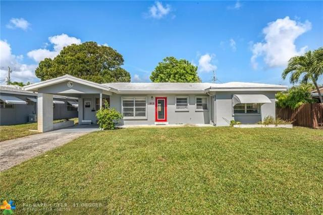 1813 NE 27th St, Wilton Manors, FL 33306 (MLS #F10148649) :: Green Realty Properties