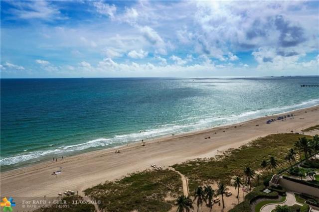 5000 N Ocean Blvd Ph1709, Lauderdale By The Sea, FL 33308 (MLS #F10148650) :: Green Realty Properties