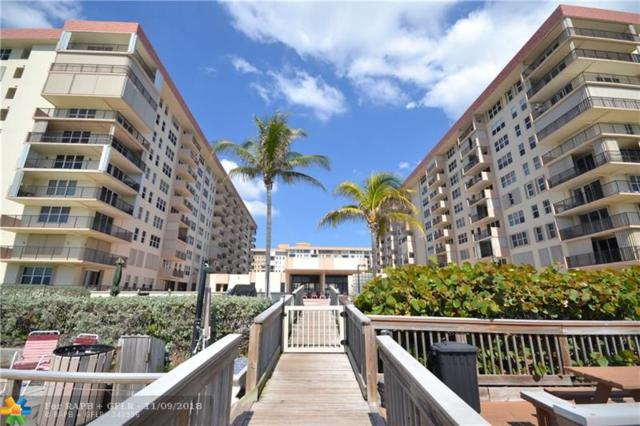 1147 Hillsboro Mile #507, Hillsboro Beach, FL 33062 (MLS #F10149435) :: Green Realty Properties