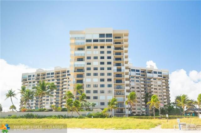 4900 N Ocean Blvd #405, Lauderdale By The Sea, FL 33308 (MLS #F10149851) :: Green Realty Properties