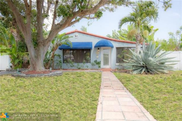 1612 NE 17th Terrace, Fort Lauderdale, FL 33305 (MLS #F10149935) :: Green Realty Properties