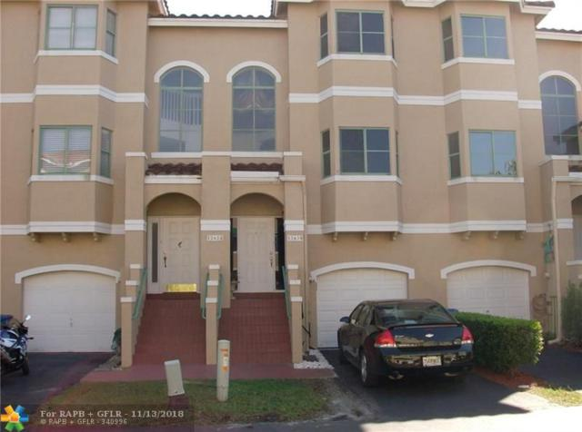12630 NW 14th Pl #12630, Sunrise, FL 33323 (MLS #F10150010) :: Green Realty Properties
